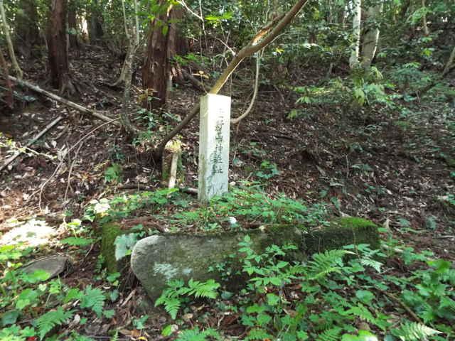 萱野山神社跡
