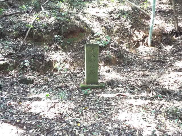 岩谷神社跡